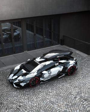 Lamborghini Huracan LP800 Winter Project by Jon Olsson and WrapZone