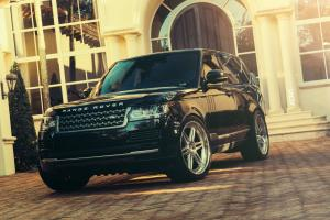 Land Rover Range Rover HSC in Black on ADV.1 Wheels (ADV06TFCS)