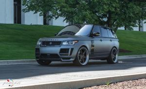 Land Rover Range Rover Autobiography by The Auto Art and STRUT on ADV.1 Wheels (ADV6 TRACK FUNCTION