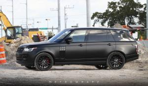 Land Rover Range Rover HSE Matte Black by MetroWrapz