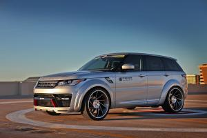 Land Rover Range Rover HSE by Prior Design and Creative Bespoke on Forgiato Wheels (Troppo-ECL)
