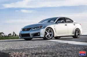 Lexus IS F X Work on Vossen Wheels (VWS-3)
