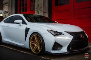 Lexus RC F on Vossen Wheels (VPS-302)