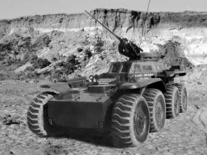 Lockheed Martin XM-808 Twister Armored Car Prototype