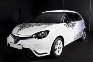 MG 3 Personalisation Design Concept