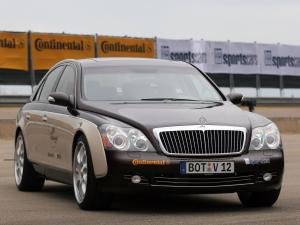 Maybach 57 SV12 S Biturbo Speed Record Car by Brabus