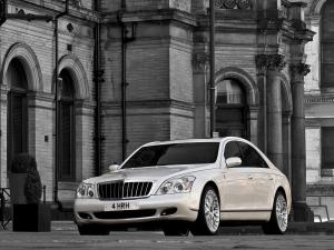 Maybach 57S Wedding Commemorative by Project Kahn