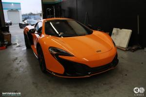 McLaren 650S Camui Crystal Coating by Impressive Wrap