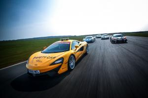McLaren 540C Coupe Safety Car
