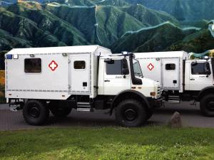Mercedes-Benz Unimog U4000 Medical Rescue by Miesen