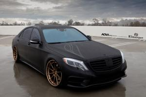 Mercedes-Benz S-Class by R1 Motorsport on ADV.1 Wheels (ADV10 TRACK SPEC CS)