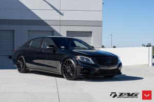 Mercedes-Benz S-Class by TAG Motorsports on Vossen Wheels (VFS2)