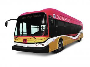 New Flyer Advanced Style BRT DE40LFA