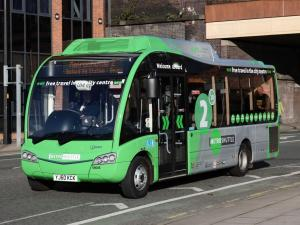 Optare Solo SR Diesel-Electric Hybrid Bus