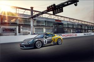 Porsche Cayman GT4 Clubsport MR by Manthey-Racing