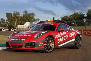 Porsche 911 Carrera 4S Coupe Safety Car