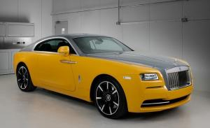 Rolls-Royce Wraith in Bespoke Yellow
