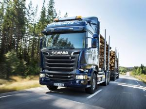 Scania R730 6x4 Streamline Timber Truck