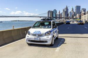 Smart ForTwo Coupe Police
