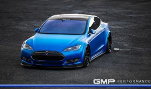 Tesla Model S by GMP Performance on ADV.1 Wheels (ADV10R TRACK SPEC CS)