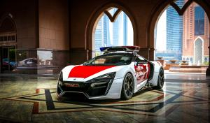W Motors Lykan HyperSport by Dubai Police