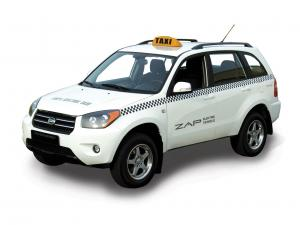 ZAP Electric Taxi SUV