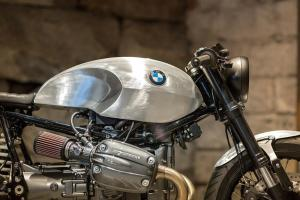 Unique Custom Cycles: кафе рейсер BMW R1150GS