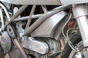 White Collar Bike: кастом Ducati Monster 795