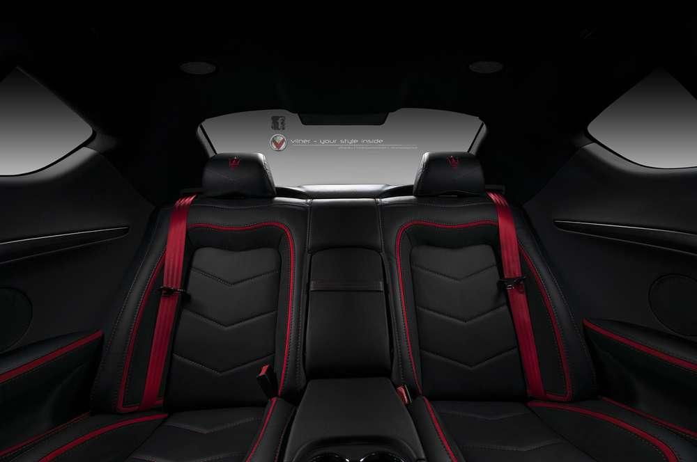 Maserati granturismo interior black