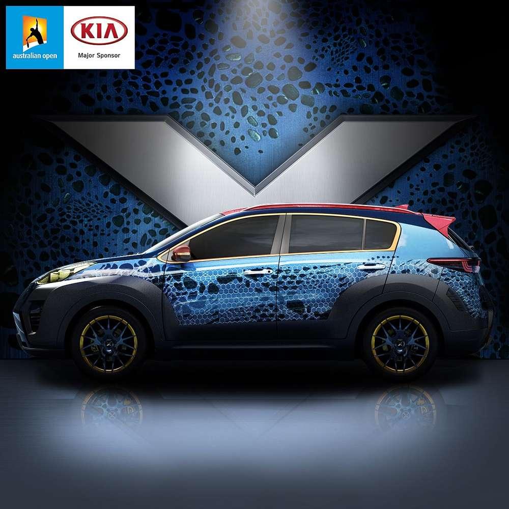 Kia sportage x-men 2018 - фото, видео, цена