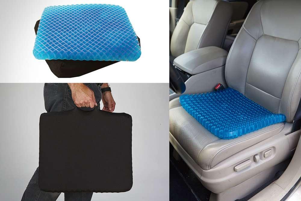 Как сделать подушку на сиденье